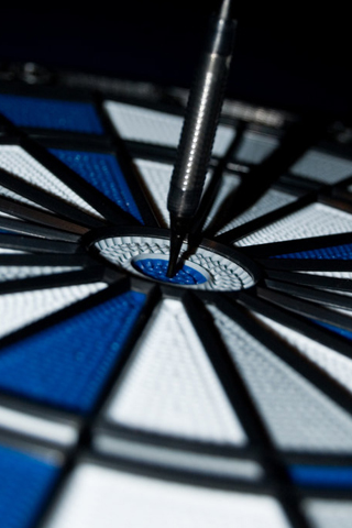 Bulls Eye iPhone Wallpaper