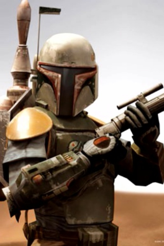 Boba Fett iPhone Wallpaper