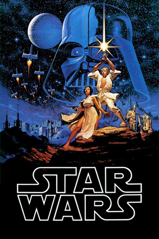 Classic Star Wars Poster iPhone Wallpaper