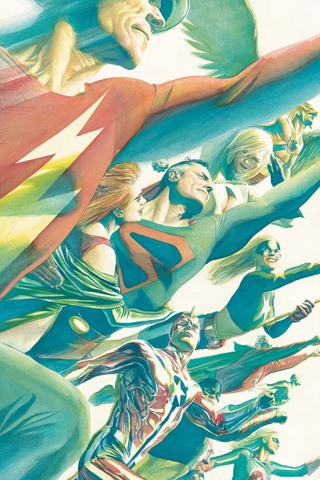 Justice Society of America iPhone Wallpaper