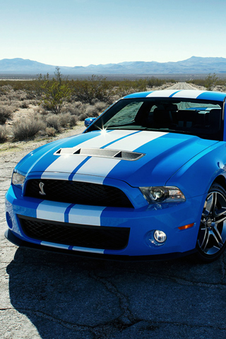 Ford Shelby GT500 Coupe iPhone Wallpaper