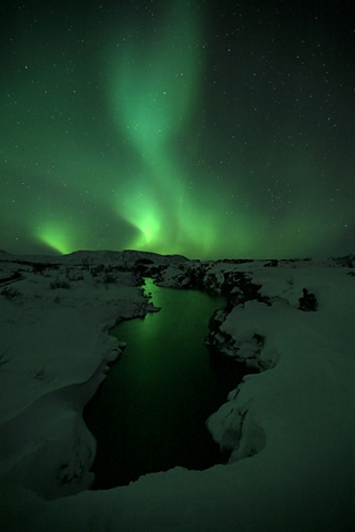 Aurora Borealis iPhone Wallpaper