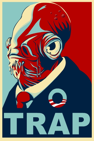 Trap Campaign iPhone Wallpaper