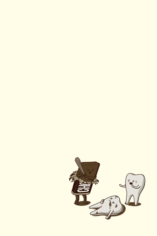 Chocolate iPhone Wallpaper