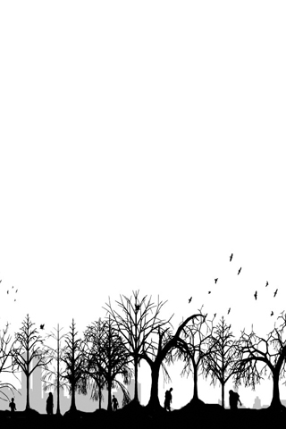 Forest of the Dead iPhone Wallpaper