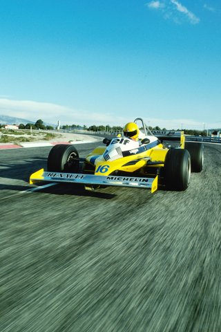 Renault F1 Racecar iPhone Wallpaper