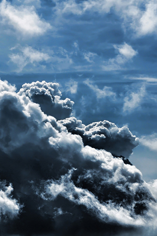 Storm Cloud iPhone Wallpaper