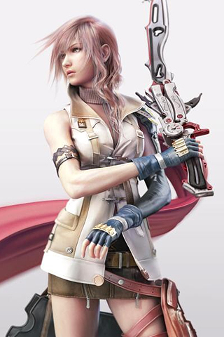 Final Fantasy XIII - Lightning iPhone Wallpaper