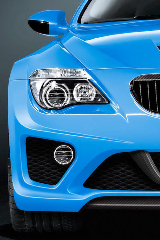 BMW 6 Series Hurricane iPhone Wallpaper