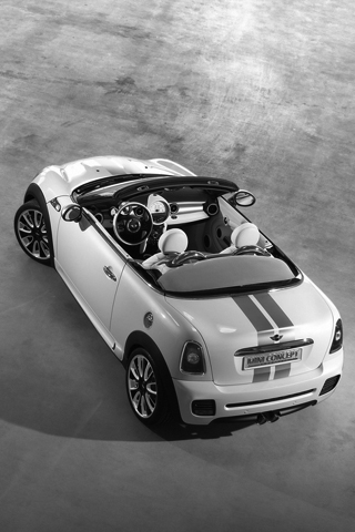 Mini Roadster Concept iPhone Wallpaper