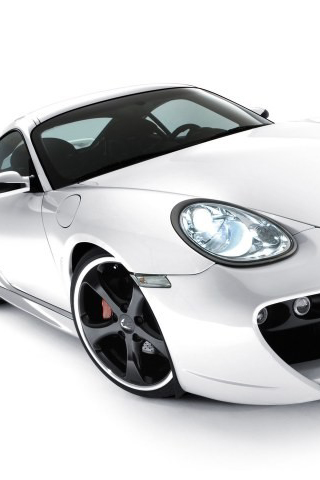 Porsche Cayman GT iPhone Wallpaper