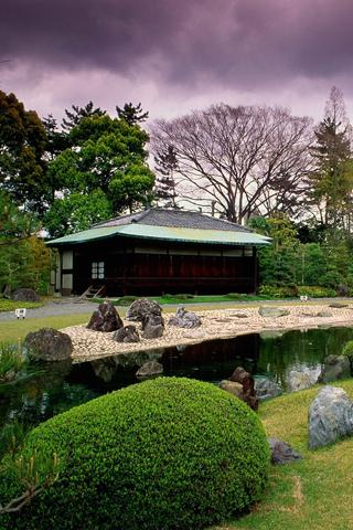Seiryuen Garden, Japan iPhone Wallpaper