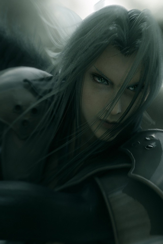 Sephiroth - Advent Children iPhone Wallpaper