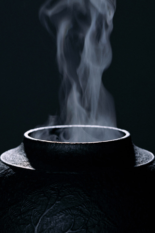 Steam Pot iPhone Wallpaper