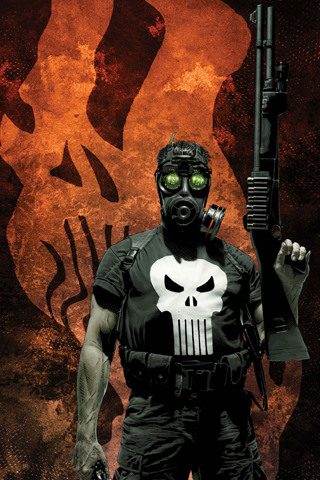 The Punisher iPhone Wallpaper