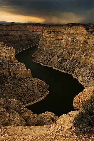Canyon River iPhone Wallpaper