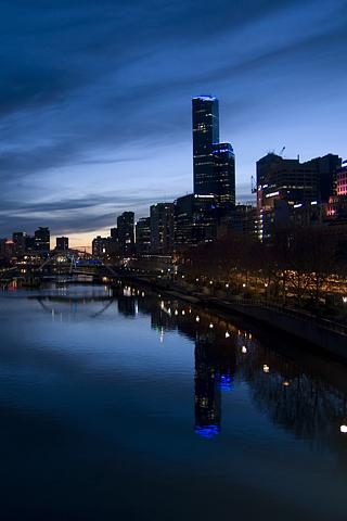 Yarra River, Melbourne, Australia iPhone Wallpaper