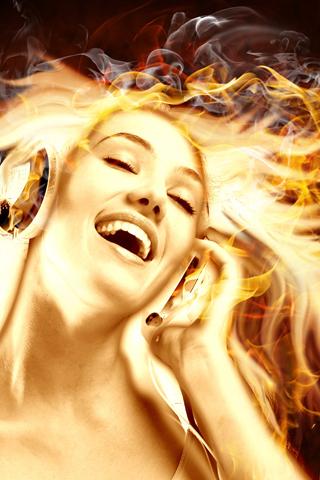 Hot Music iPhone Wallpaper