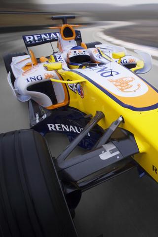 Renault Formula 1 iPhone Wallpaper