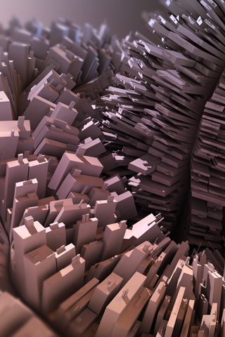 Building Blocks iPhone Wallpaper