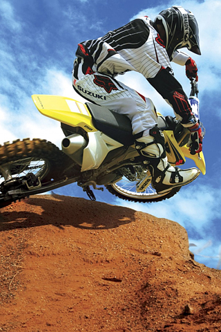 Motocross iPhone Wallpaper