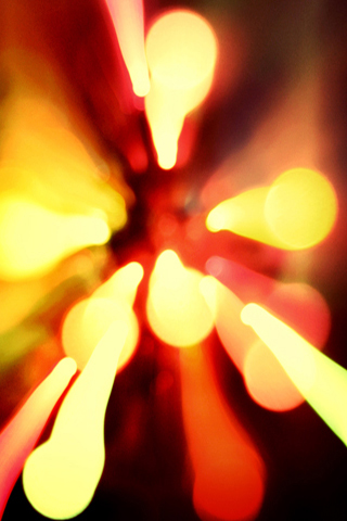Lava Effect iPhone Wallpaper