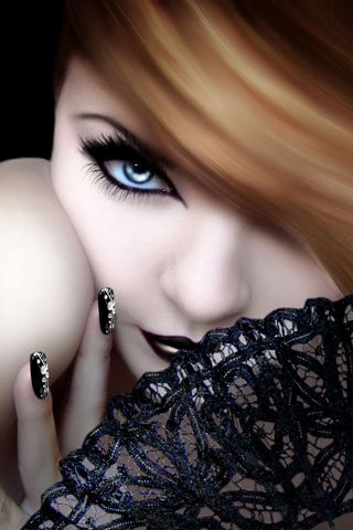 Seductress iPhone Wallpaper