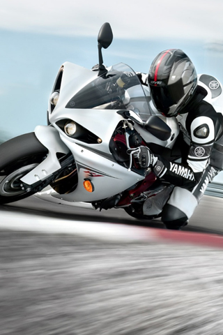 Yamaha YZF R1 iPhone Wallpaper