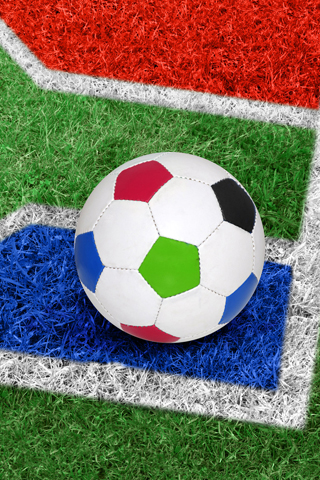 Corner Kick iPhone Wallpaper