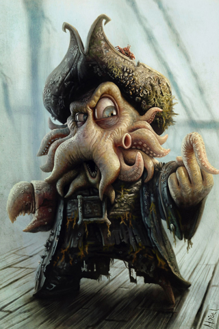The Pirates of the Caribbean iPhone Wallpaper