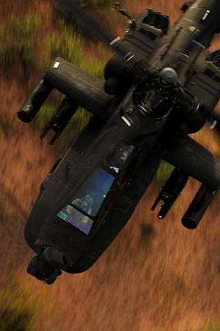 Black Chopper iPhone Wallpaper
