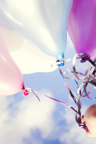Balloons iPhone Wallpaper