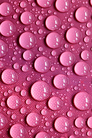 Wet Pink Texture iPhone Wallpaper