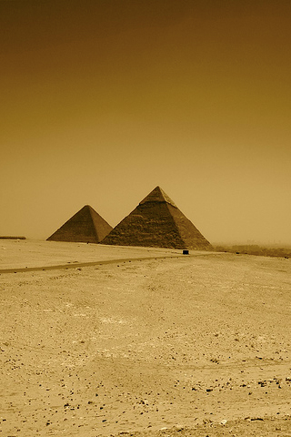 Pyramids iPhone Wallpaper