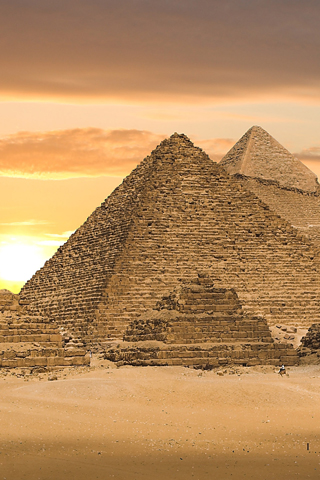 The Pyramids iPhone Wallpaper
