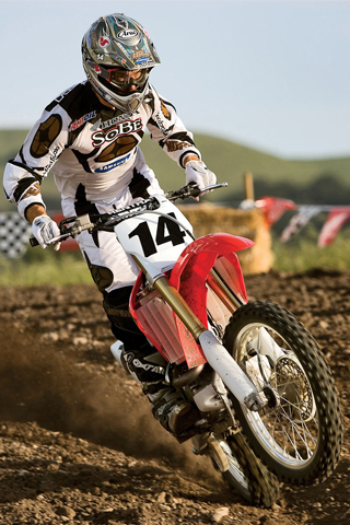 Honda CRF450R iPhone Wallpaper