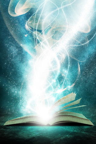 Book of Light iPhone Wallpaper