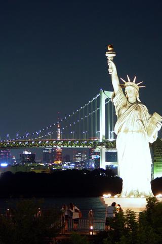 Statue Of Liberty Iphone Wallpaper Idesign Iphone