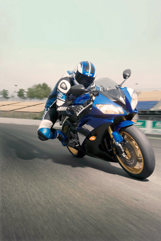 Yamaha YZF iPhone Wallpaper