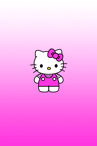 Hello Kitty! iPhone Wallpaper