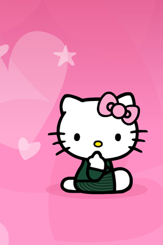 hello kitty wallpaper for ipod touch. Hello Kitty!