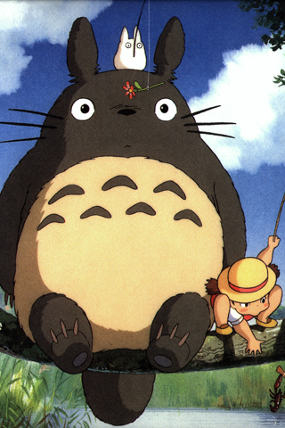 Картинка My Neighbor Totoro для iPhone и iPod.