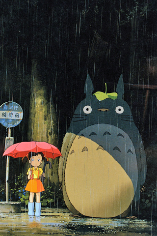 My Neighbor Totoro IPhone Wallpaper