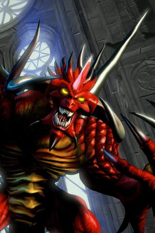 Demon! iPhone Wallpaper