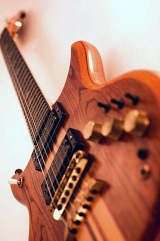 Electric Guitar iPhone Wallpaper