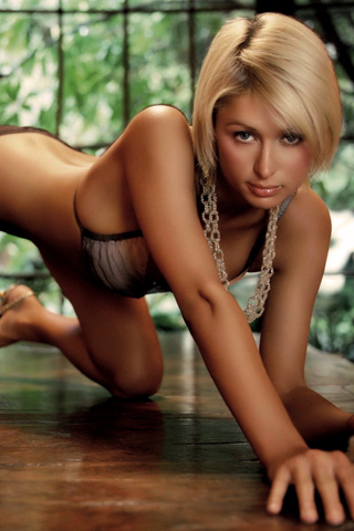 Paris Hilton iPhone Wallpaper