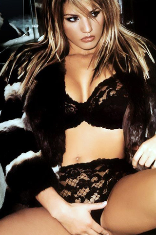 Katie Price iPhone Wallpaper