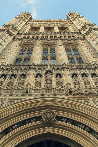 Palace of Westminster, England iPhone Wallpaper