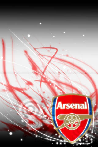 Arsenal Logo iPhone Wallpaper