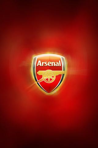 Arsenal Logo iPhone Wallpaper